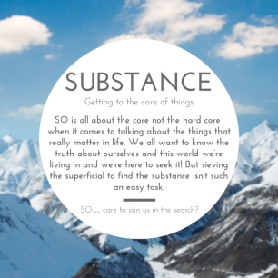 SUBSTANCE ­ .