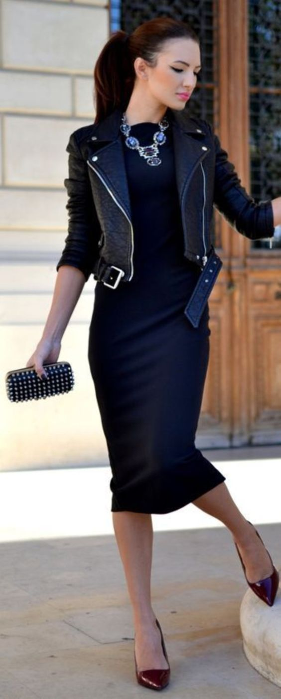 Black Dress Winter