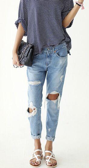 Boyfriend Jeans Summer
