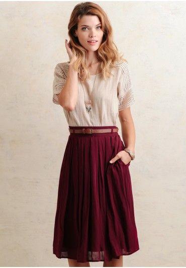 Midi Skirt Summer