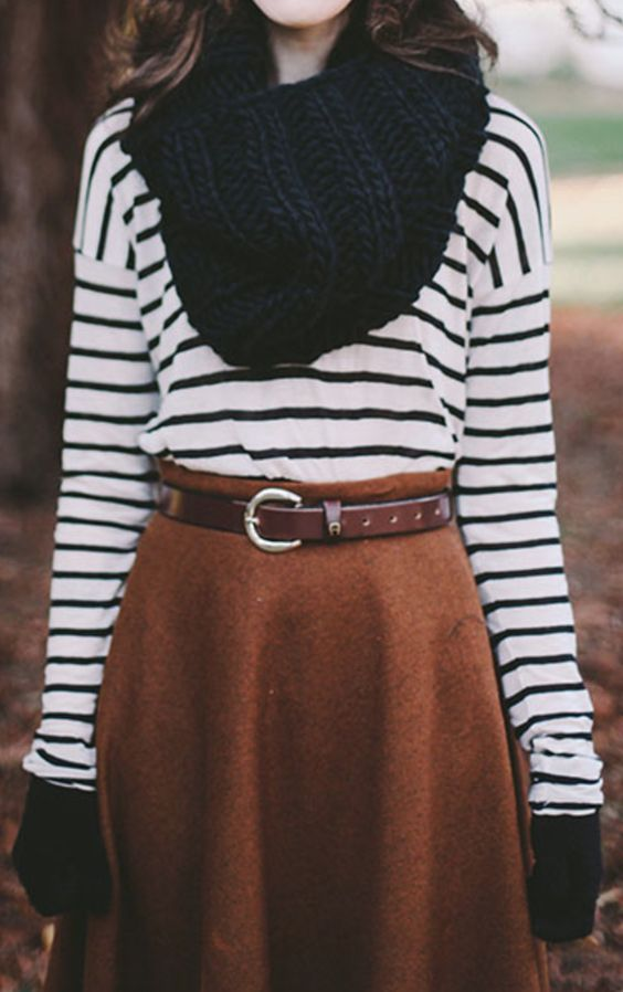 Midi Skirt Winter